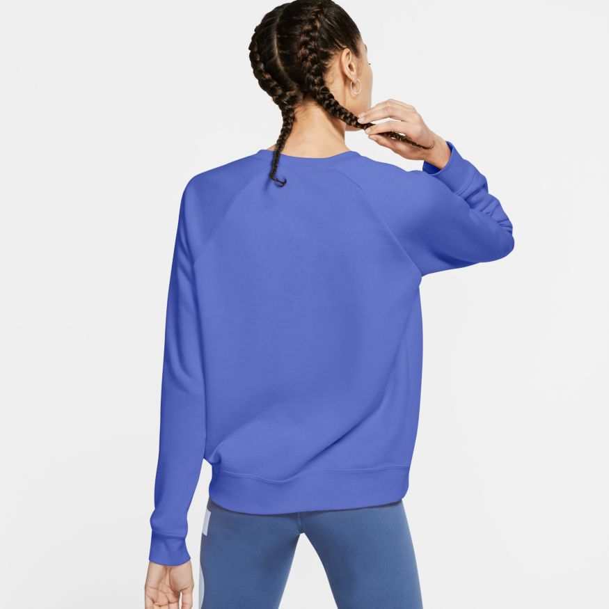 Blusão Nike Sportswear Essential Fleece Crew Feminino
