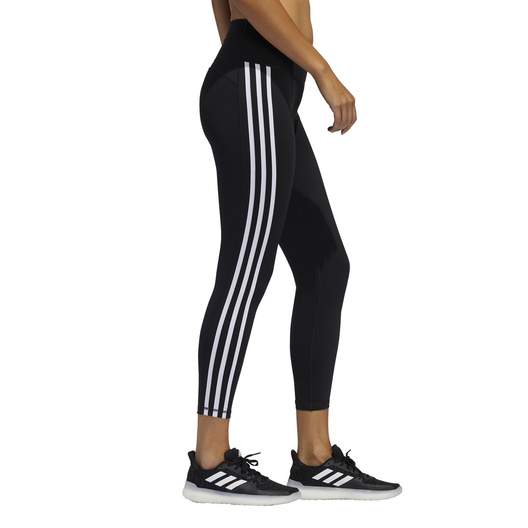 Calça Legging Adidas 7/8 Believe This 2.0 3-Stripes Feminina