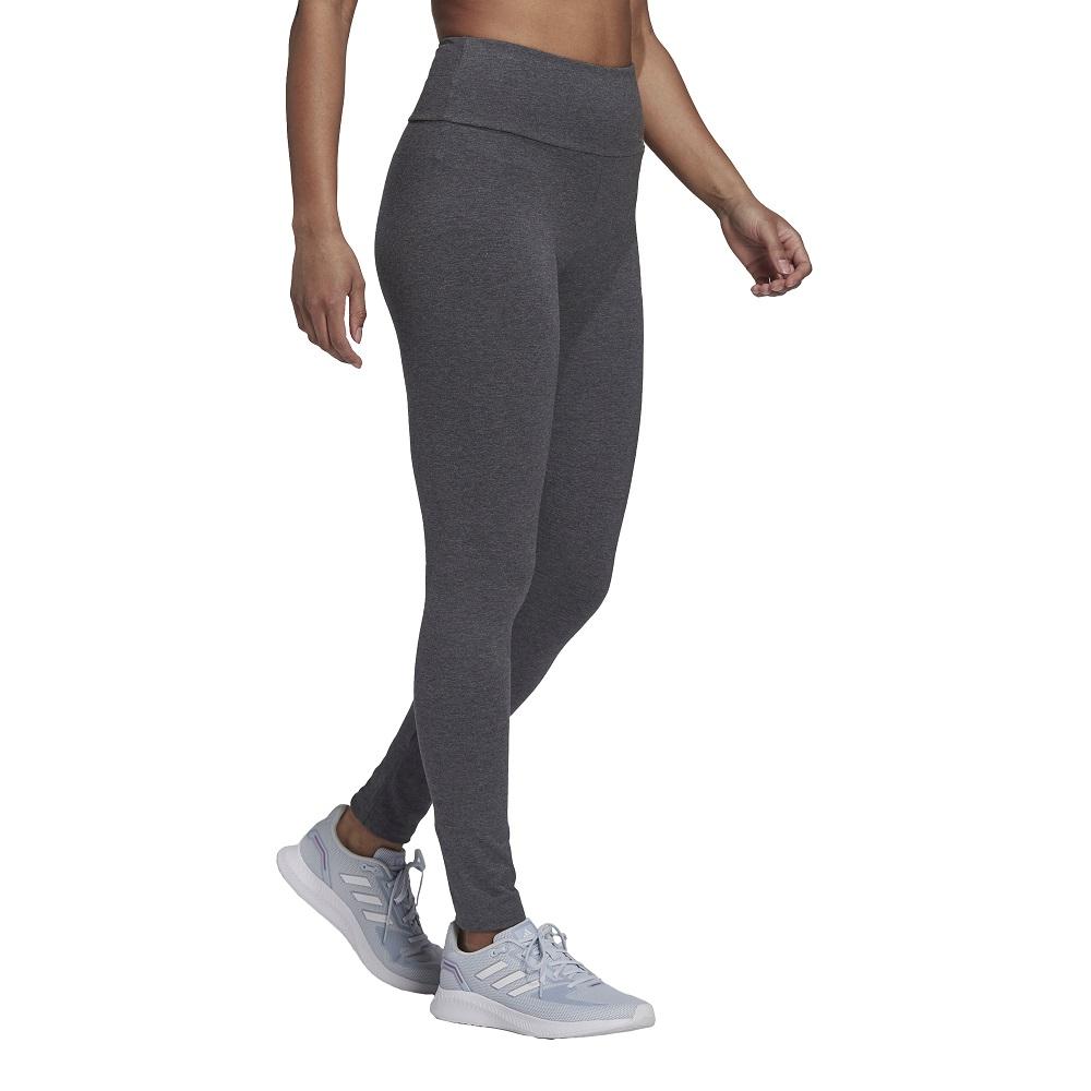 Calça Legging Adidas Cintura Alta Essentials Logo Feminina