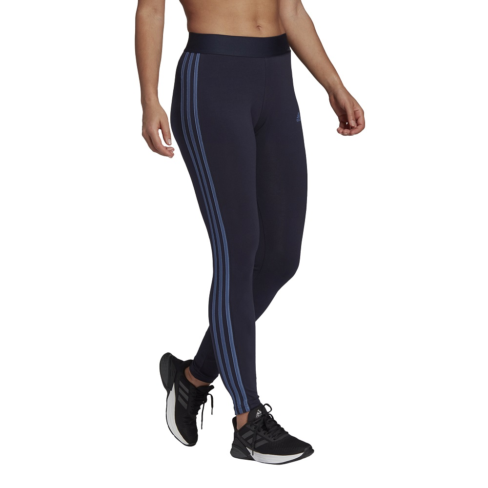 Calça Legging Adidas Essentials 3 Stripes
