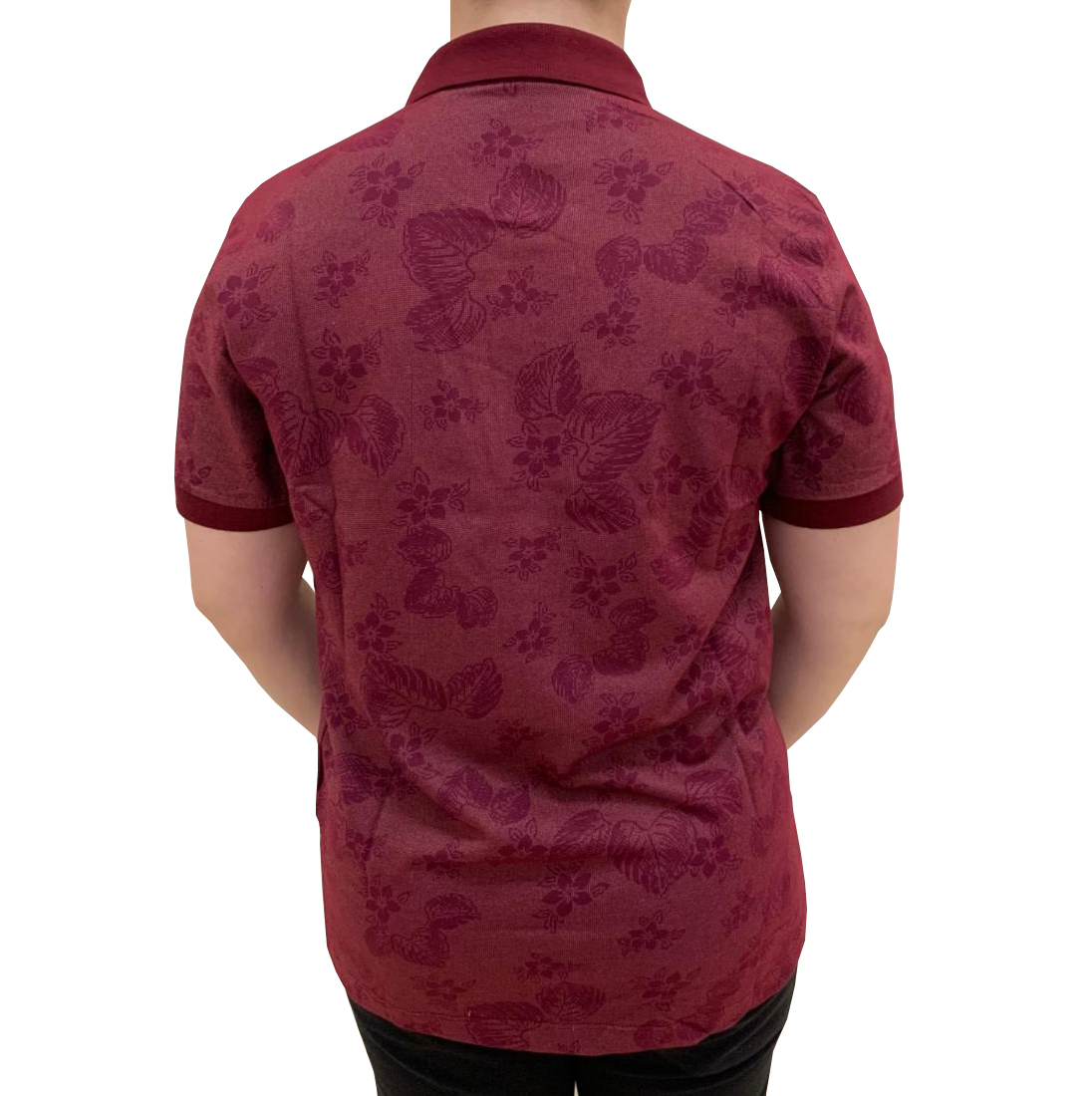 Camisa Polo Proside Flores