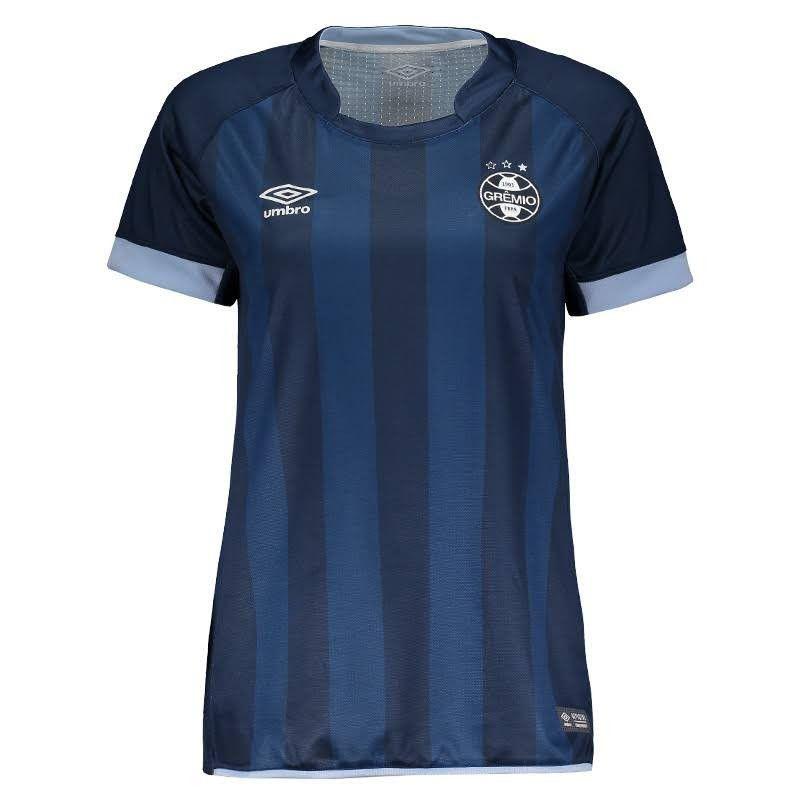 Camisa Umbro Grêmio OF.3 2017/2018 Torcedor Feminina
