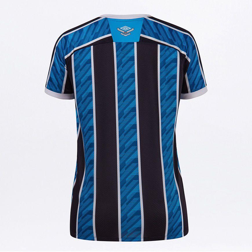 Camisa Umbro Grêmio Oficial I 2020 Torcedora Feminina