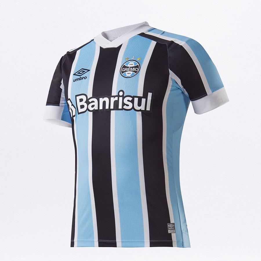Camisa Umbro Grêmio Oficial I 2021 Clássica S/N
