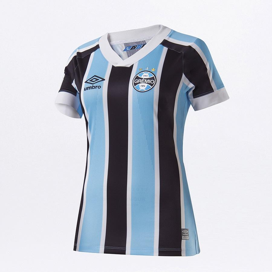 Camisa Umbro Grêmio Oficial I 2021 Feminina
