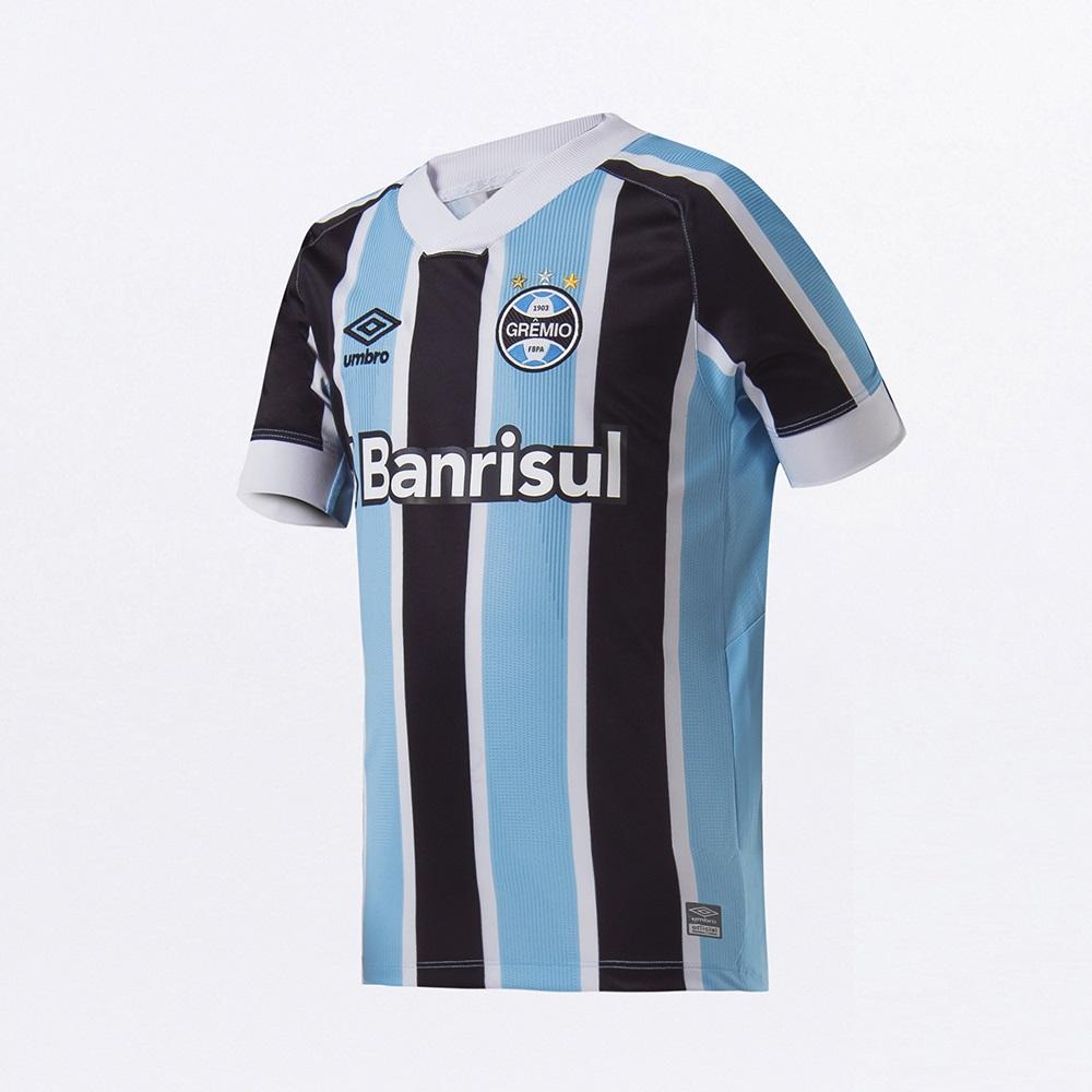 Camisa Umbro Grêmio Oficial I 2021 Juvenil