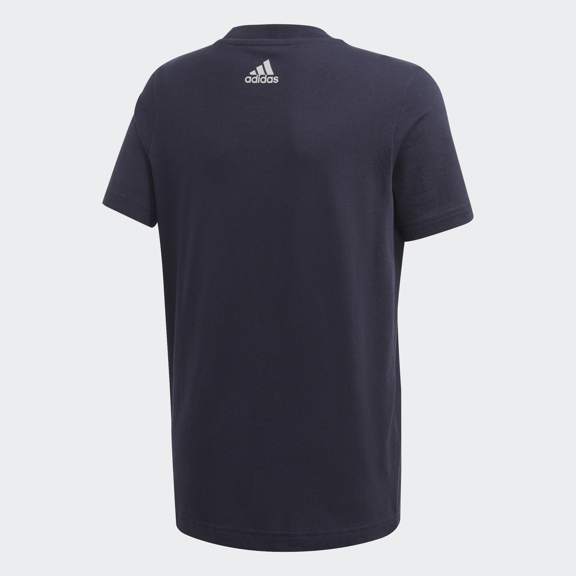 Camiseta Adidas Logo Estampada JUVENIL