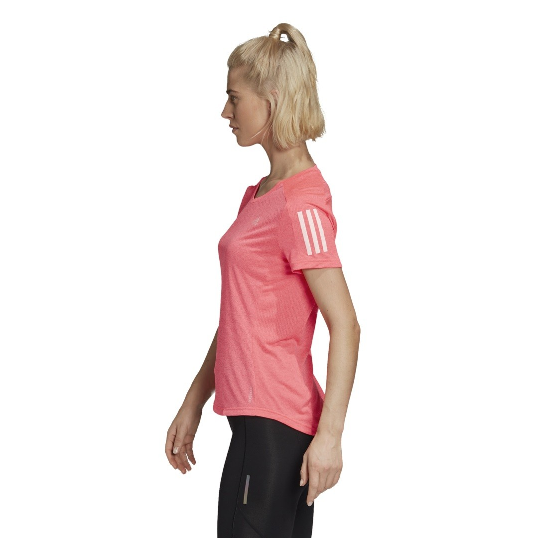 Camiseta Adidas Own The Run Tee Cooler Feminina