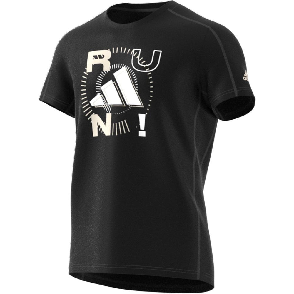Camiseta Adidas Run Logo