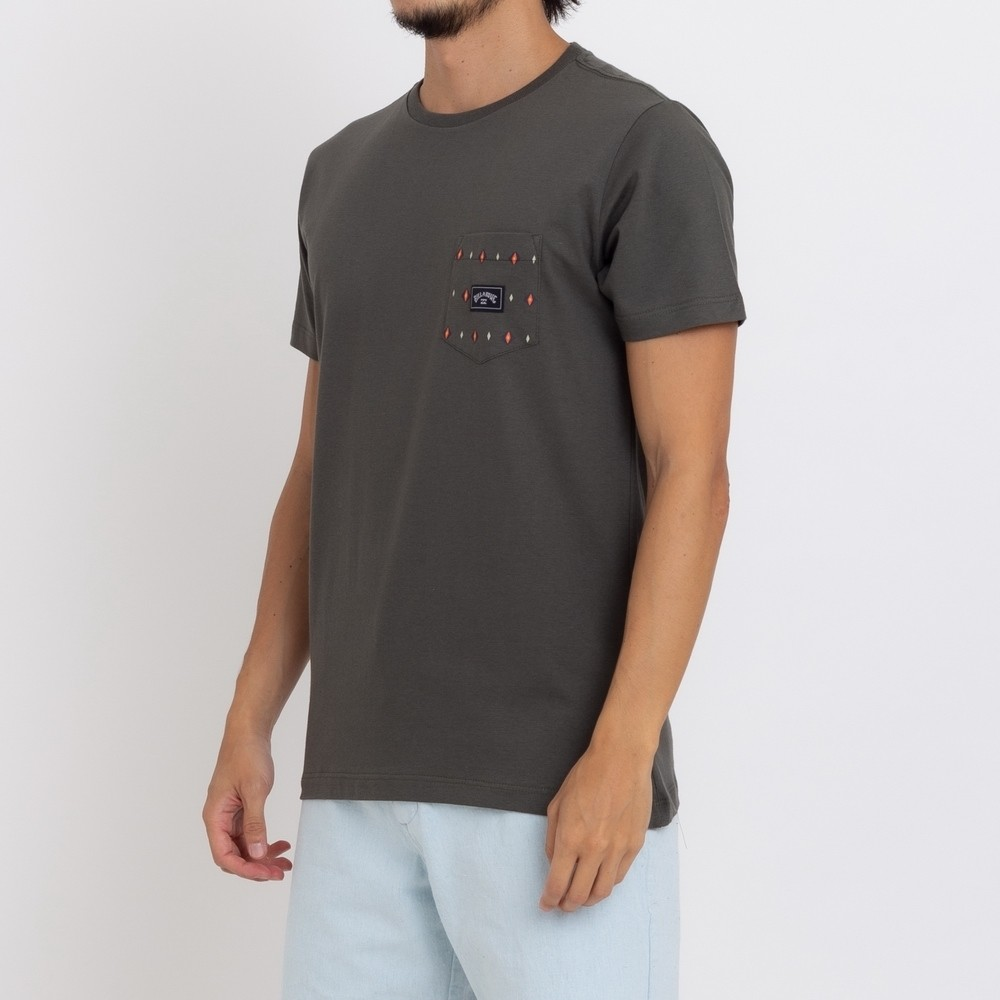 Camiseta Billabong Team Pocket Mini II