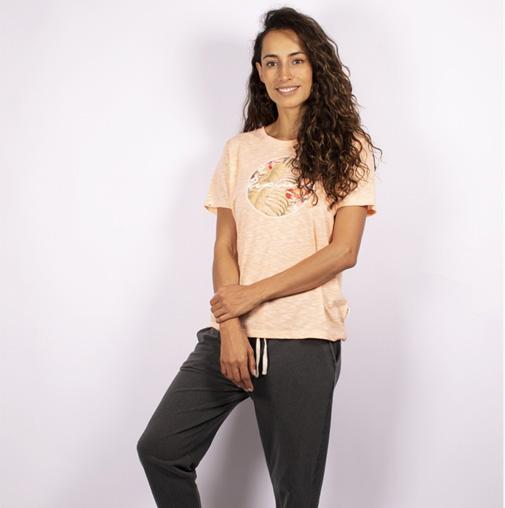 Camiseta Rip Curl Leilane Filter Tee Feminina