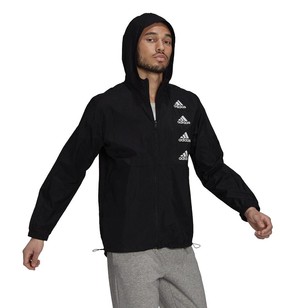 Jaqueta Corta Vento Adidas Essentials Gradient Logo