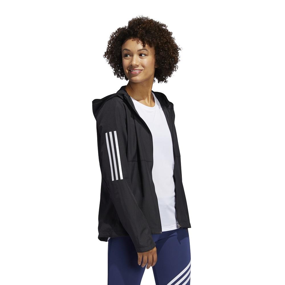 Jaqueta Corta Vento Adidas Own the Run Hooded Feminina