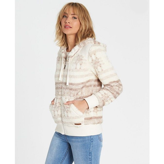 Jaqueta Moletom Billabong Cozy Down Feminina