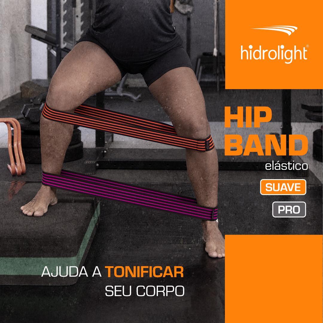 Kit 3 Peças Hip Band Elástico Hidrolight PRO