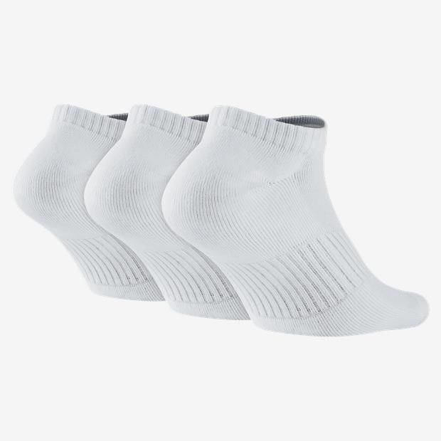 Kit Meia Nike Cotton Cushion No-Show 3 Pares