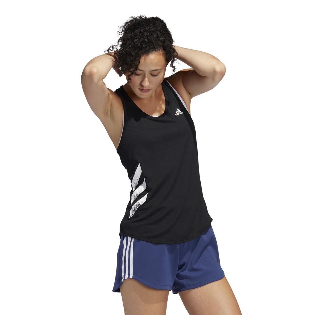 Regata Adidas Run It 3-Stripes Feminina