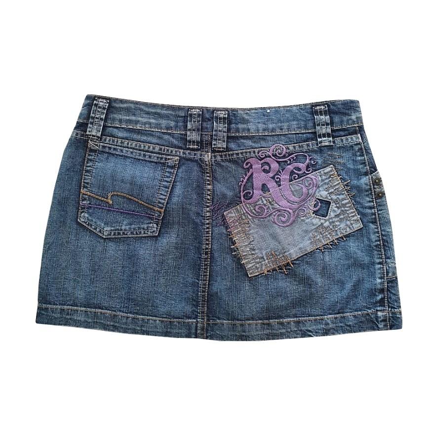 Saia Jeans Rip Curl Frenzy Feminina
