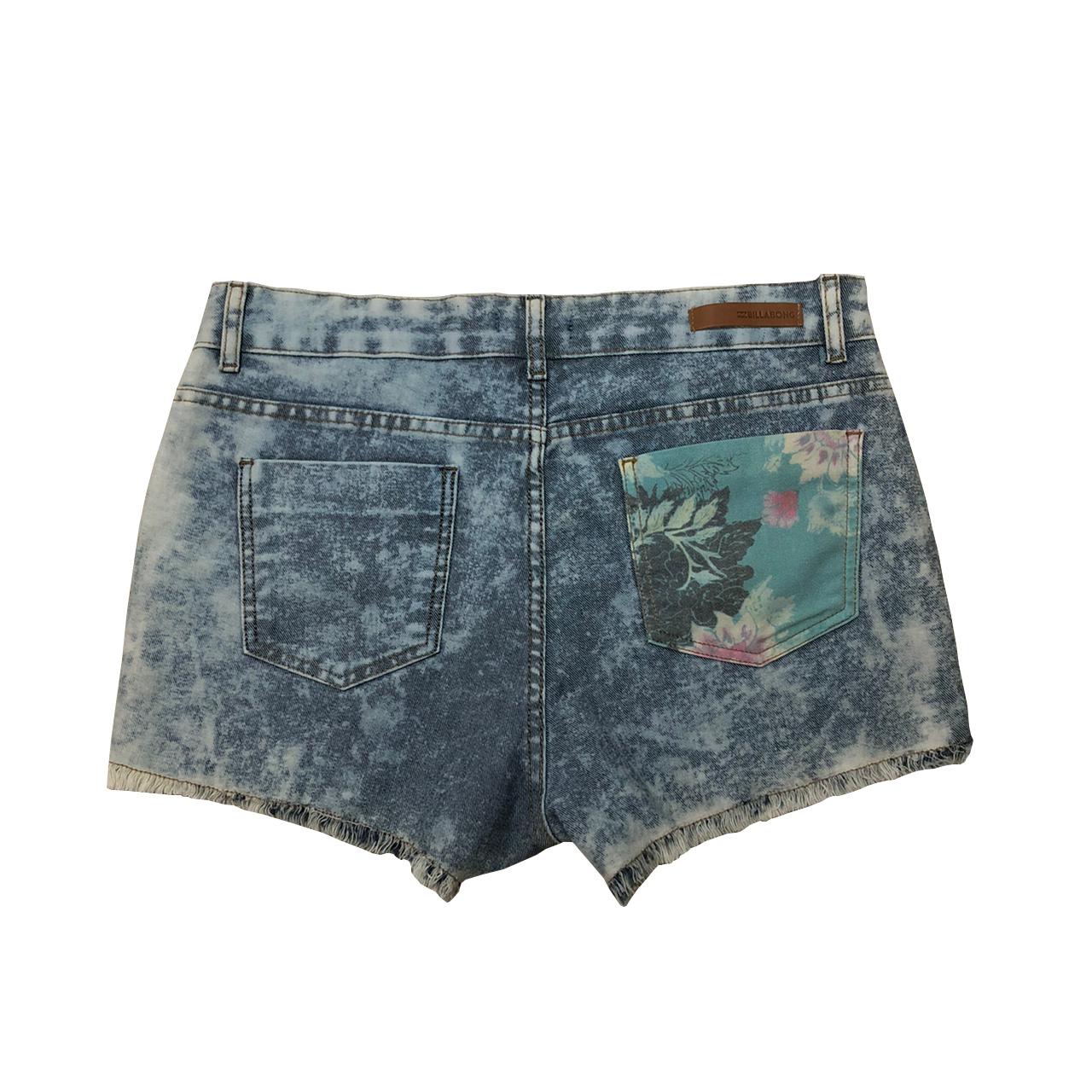 Short Jeans Billabong Dream Away Feminino