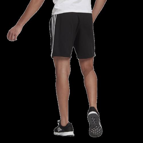Shorts de Moletinho Adidas Essentials 3 Stripes