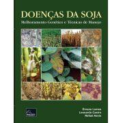 Doenças da Soja  -  Melhoramento genético e técnicas de manejo <b>Autor: Ernane Lemes - Leonardo Castro - Rafael Assis</b>
