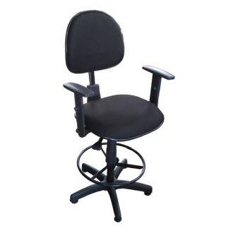Cadeira Caixa Ergonômica Executiva com Braço - NR-17