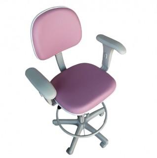 Cadeira Caixa Tradicional Secretária com Braço Base Cinza