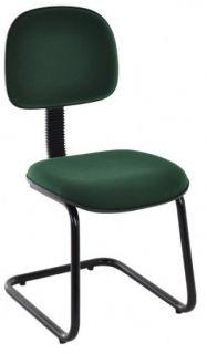 Cadeira de Escritório Secretária - Pés em S