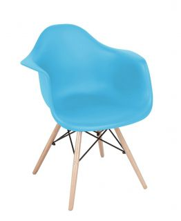 Cadeira Eames DSW com Apoio para Braços