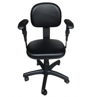 Cadeira Secretária Reclinável Com Braço