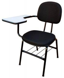 Cadeira de Estudo Universitária Secretária C/ Porta Livros