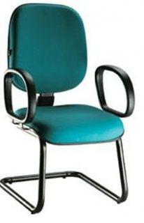 Cadeira Recepção Diretor Tradicional - Pés em S