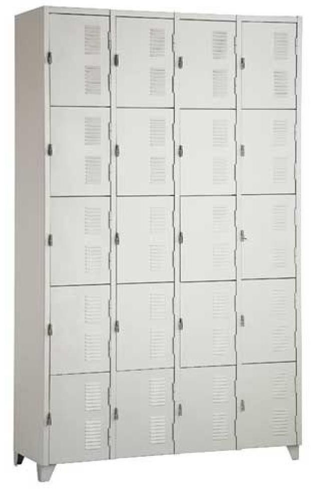 Armário Roupeiro - 20 Portas Pequenas  - Tinay Móveis Ltda