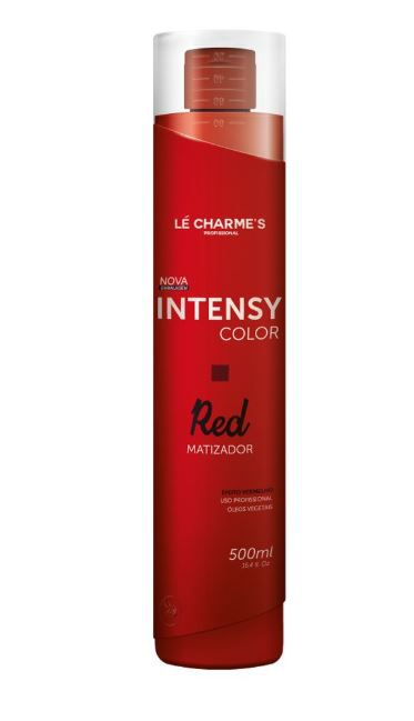 0a0312831 Máscara Matizadora Lé Charme's Intensy Color Red 500ml - Beauty ...