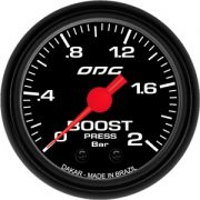 Manômetro ODG Dakar Turbo Boost 2 bar 52mm