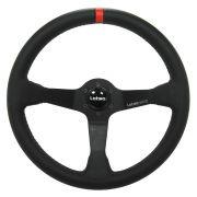 Volante Esportivo Lotse WRC Couro ou Camurça com Cubo Adaptador