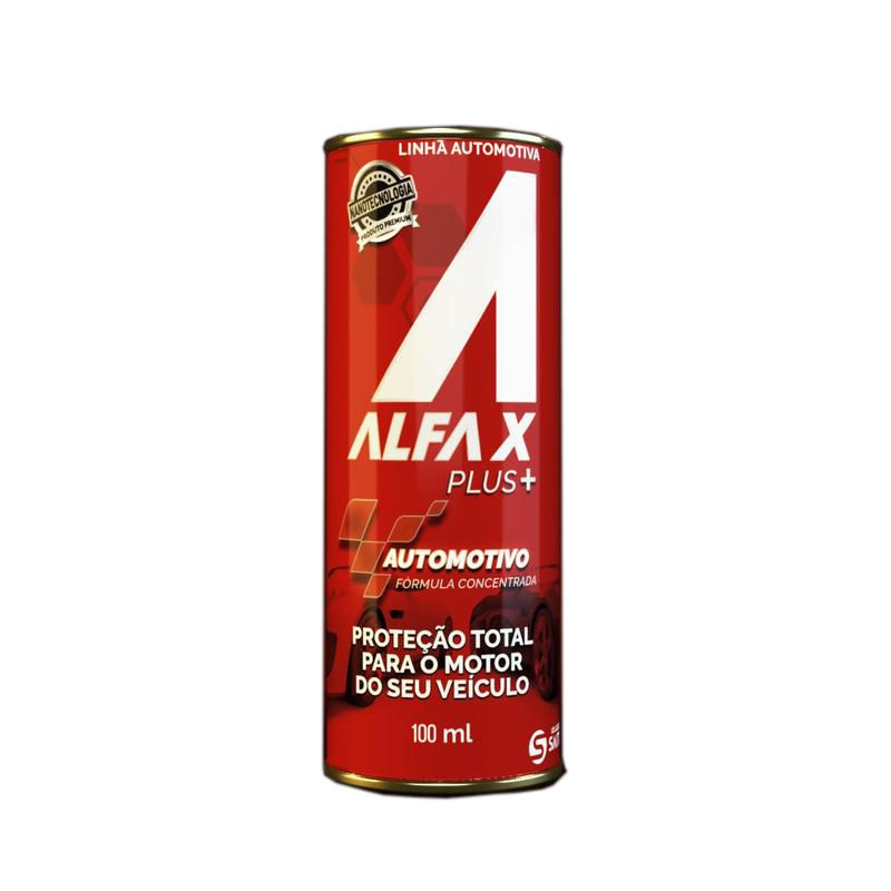 Alfa X PLUS 90ml Condicionador Metais Turbo Aspirado