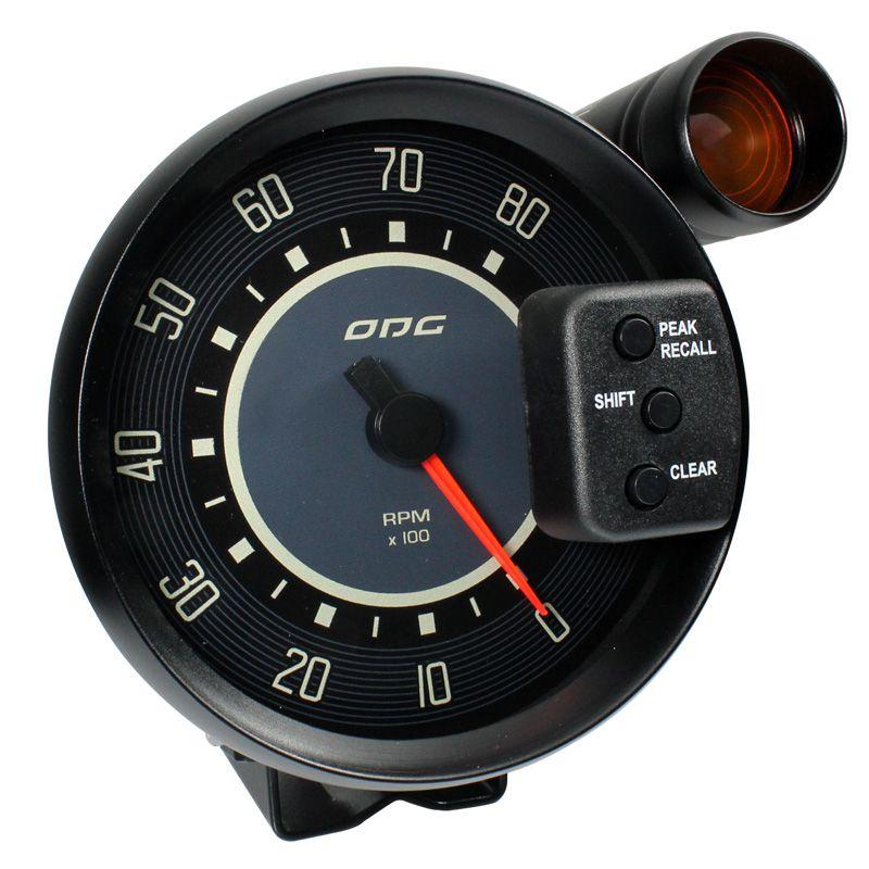 Contagiros ODG Fusca 8.000 RPM 127mm Aro Preto Grafia Bege
