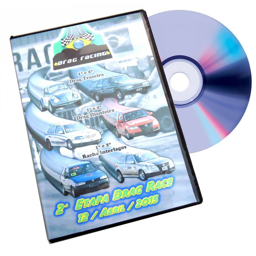DVD Arrancada Racha Interlagos Drag Race Edições Especiais
