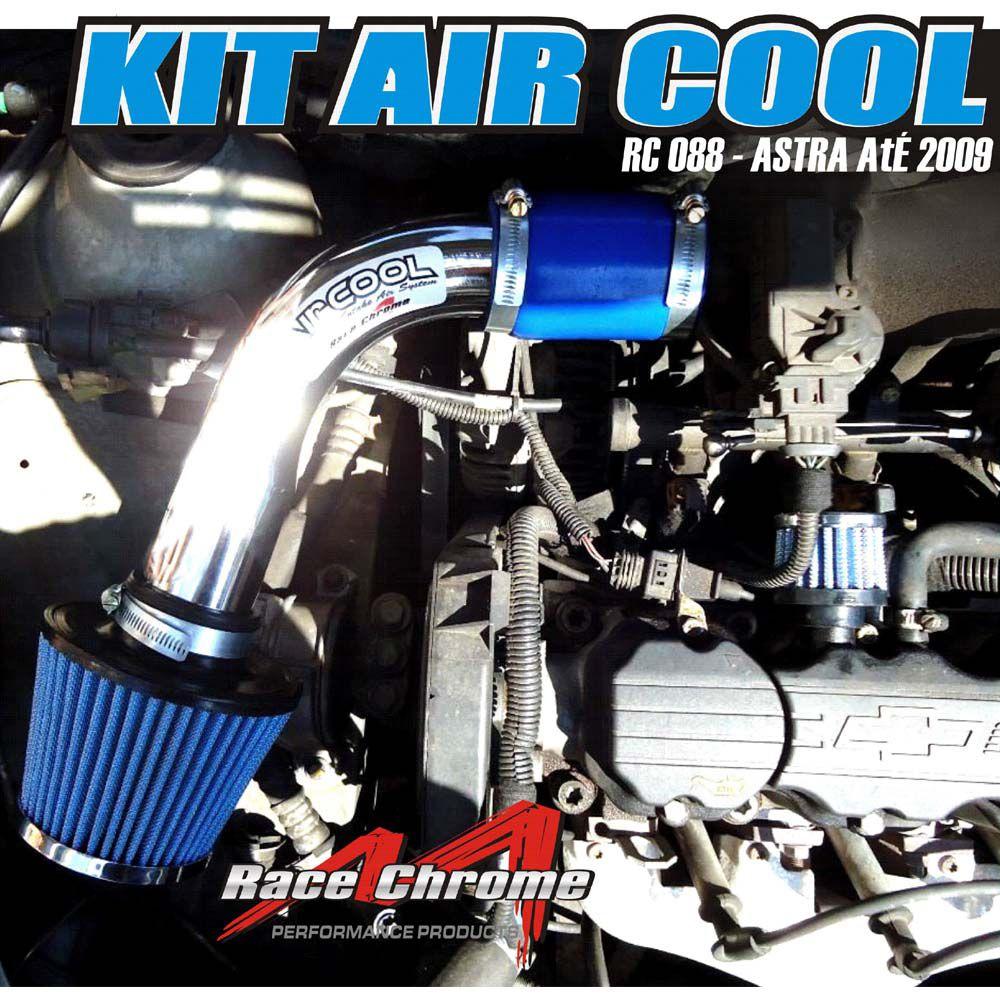 Filtro Ar Esportivo Air Intake RC088 GM Astra 1.8 2.0 1998 a 2009