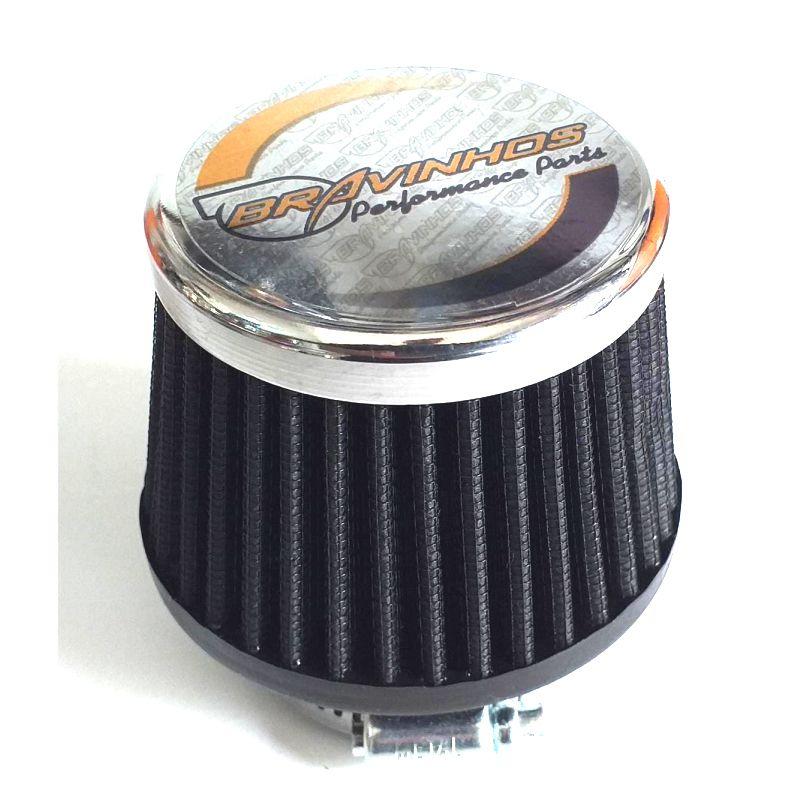 Filtro de Ar Esportivo Cônico Fusca Baixo 50mm