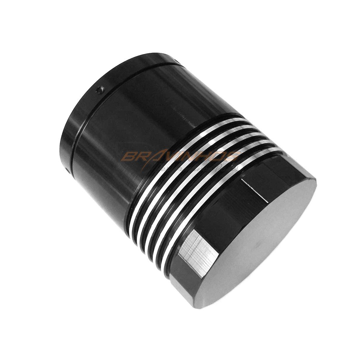 Filtro Óleo Alumínio Lavável Elemento Inox Vw Ap 1.6 1.8 2.0