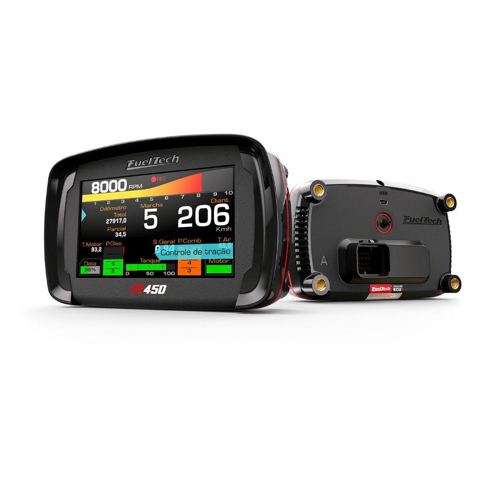 Fueltech FT450 SFi Injeção Programável com Chicote 3 Metros