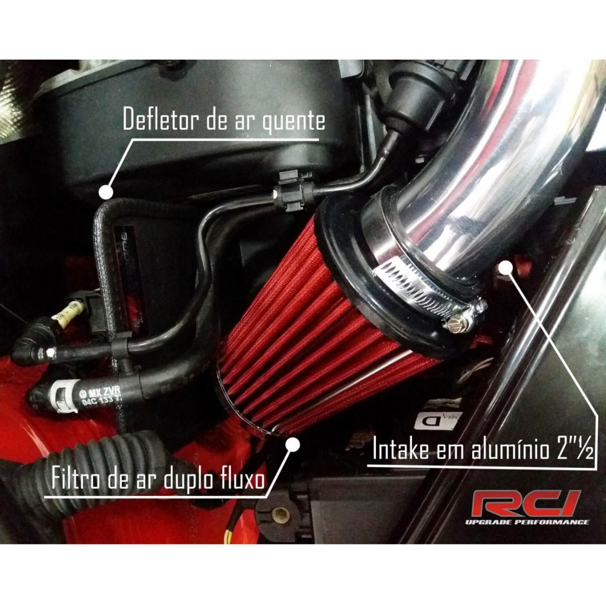 Kit Intake Air Cool Filtro VW UP 1.0 MPi RC213