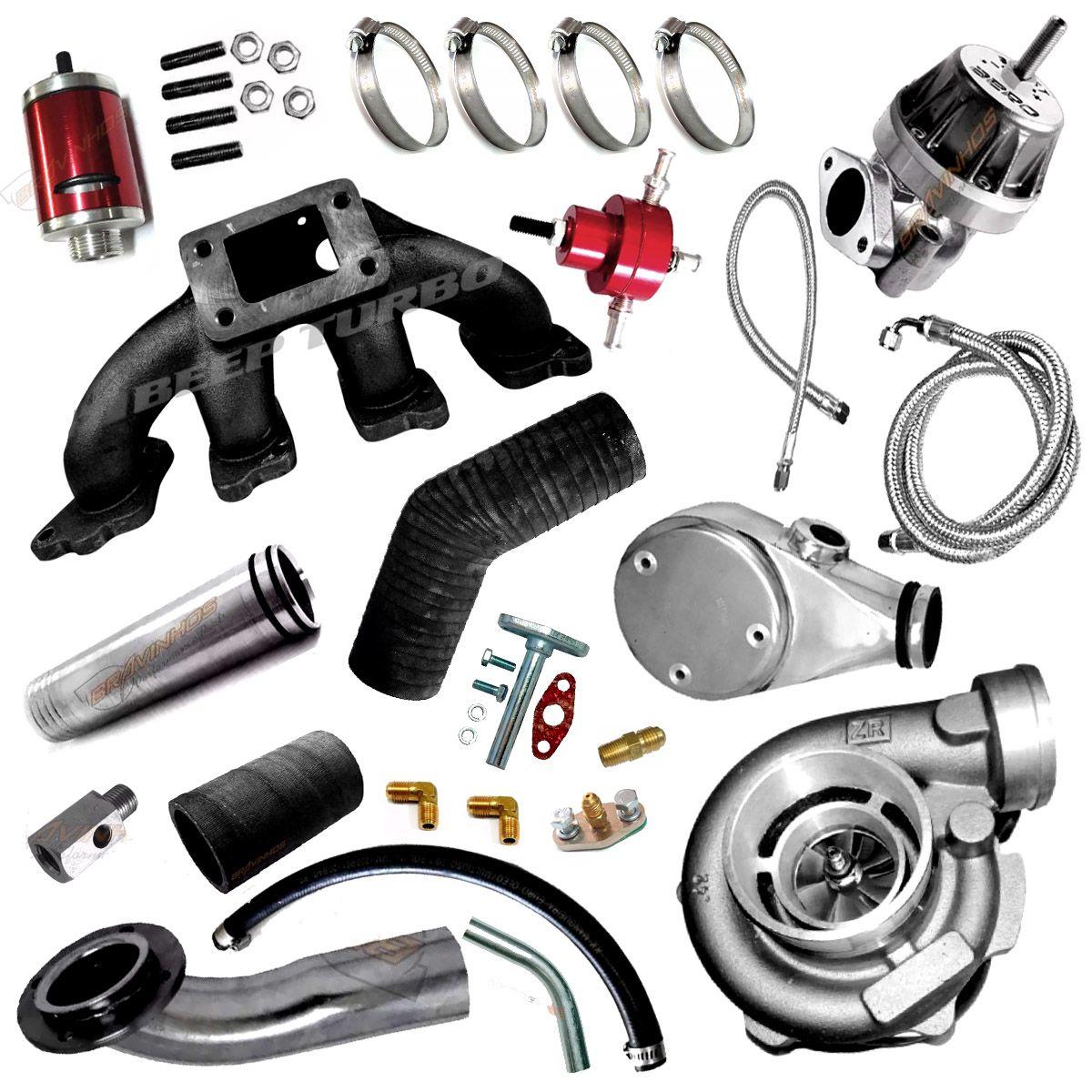 Kit Turbo GM CHEVETTE 1.6 com Turbina APL 240