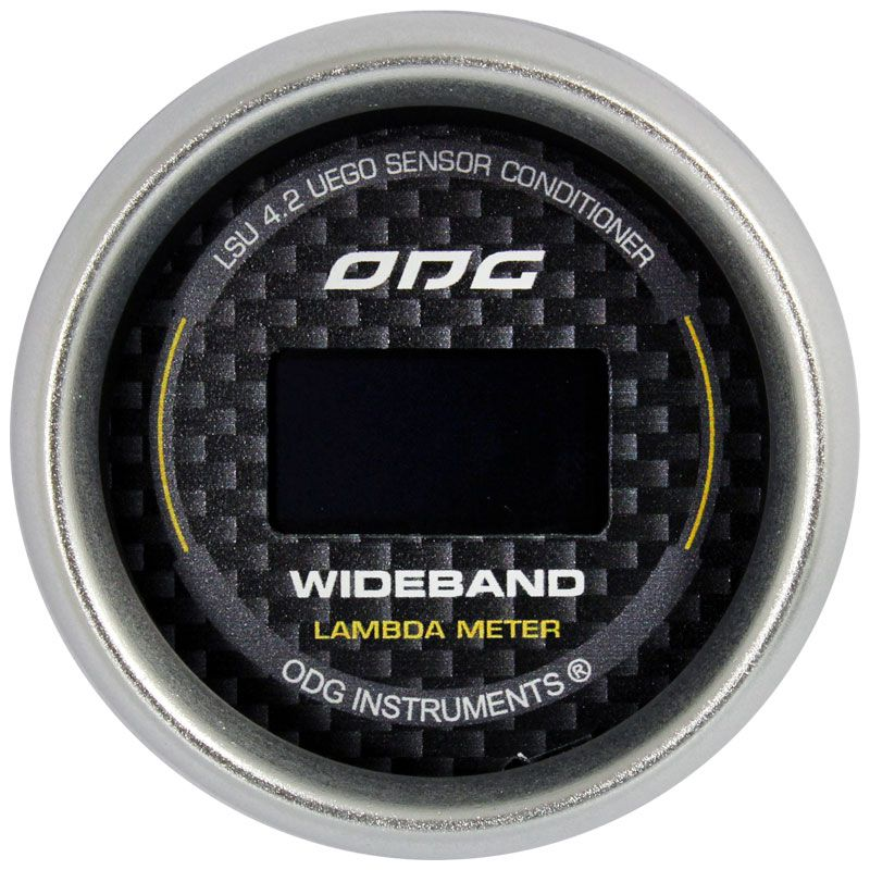 Manômetro Wideband ODG Carbon II LSU 4.2 52mm