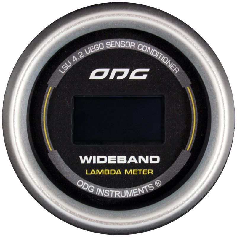 Manômetro Wideband ODG Evolution II LSU 4.2 52mm
