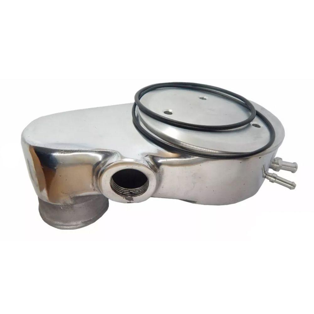 Mufla 2E 3E 90 Graus Tampa de Pressurização Turbo