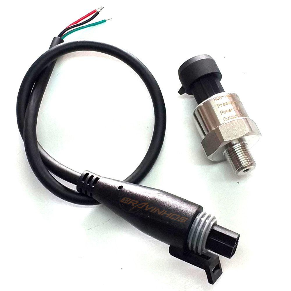 Sensor de Pressão PS10 10 Bar Fueltech Injepro Pandoo