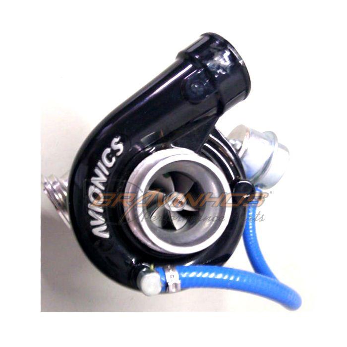 Turbina Auto Avionics Inox P/ Moto Turbo Biagio 600